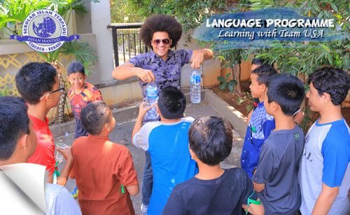 Read more about the article LANGUAGE PROGRAMME with Team USA