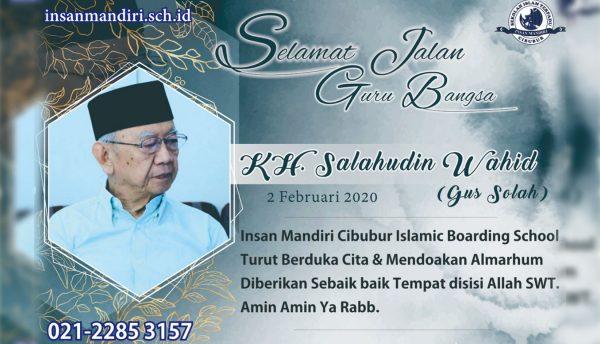 Read more about the article Kesan dan Pesan Gus Sholah