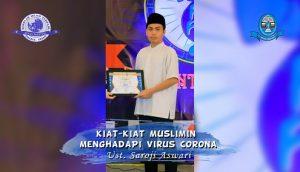 Read more about the article Kiat-Kiat Muslimin Menghadapi Corona