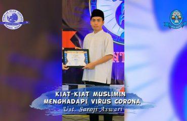 kiat-kiat muslimin menghadapi virus corona