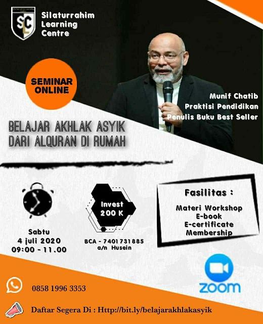 Read more about the article Belajar Akhlak Asyik dari AlQuran