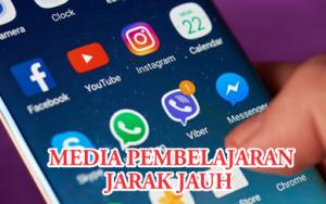 Read more about the article Media Pembelajaran Jarak Jauh