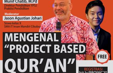 webinar MENGENAL PROJET BASED QUR'AN INSAN MANDIRI CIBUBUR