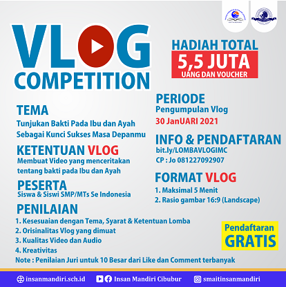 Read more about the article LOMBA VLOG (VLOG COMPETITION)