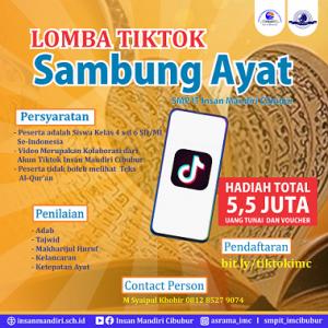 Read more about the article LOMBA TIKTOK SAMBUNG AYAT