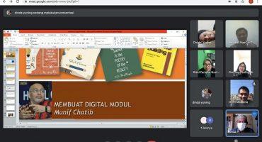 Pelatihan Membuat Modul SMP IT Insan Mandiri Cibubur