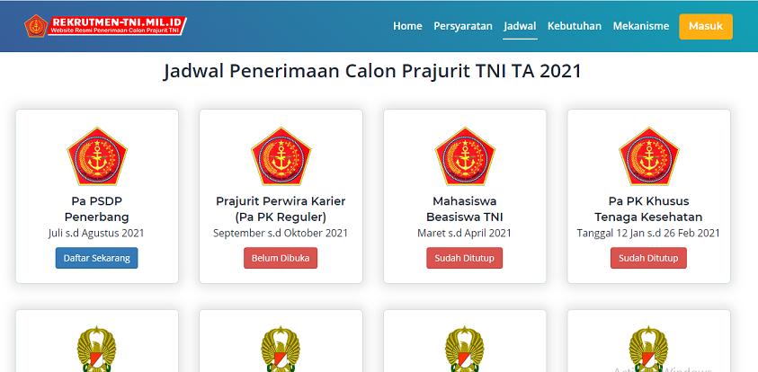 Read more about the article Penerimaan Calon Perwira ᏢᏚᎠᏢ Penerbang TNI